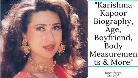 Karishma Kapoor Biography