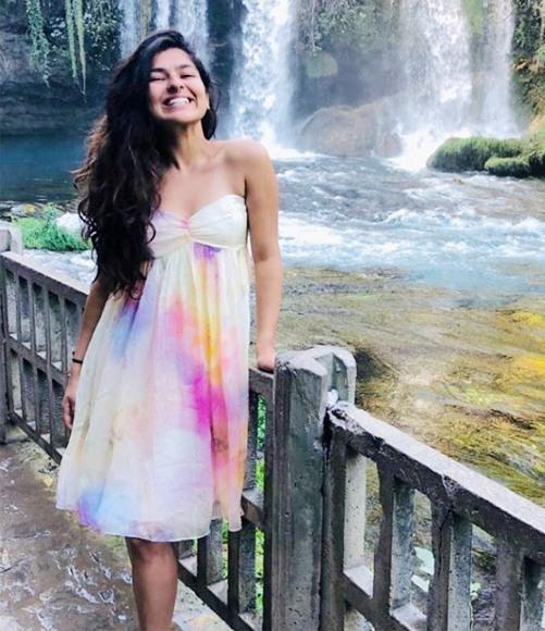 Nidhi Bhanusali Hot bikini Navel Images