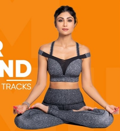 Shilpa Shetty Yoga App Video
